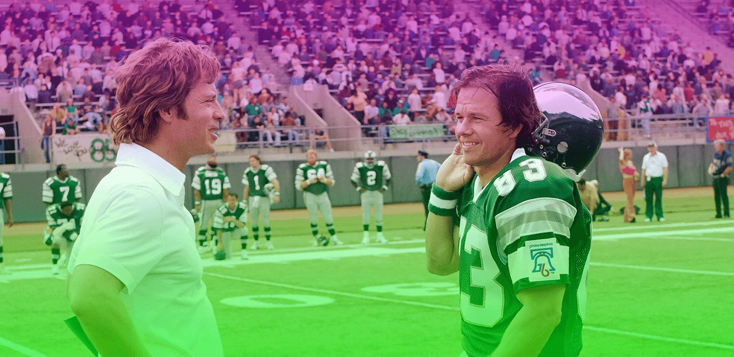 أفضل 10 أفلام كرة القدم الأمريكية في التاريخ